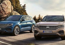 Volkswagen Touareg gets 340PS petrol flagship model