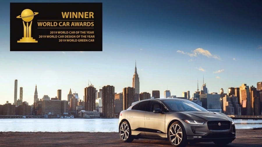 I-PACE Wins Unprecedented Treble At 2019 World Car Awards