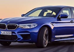 THE ALL-NEW BMW M5.